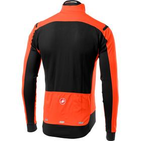 Castelli Alpha Ros Veste Homme, orange/black